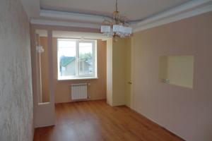 Ремонт дома Донецк, отделка спальни. Двухуровневый потолок с подсветкой.